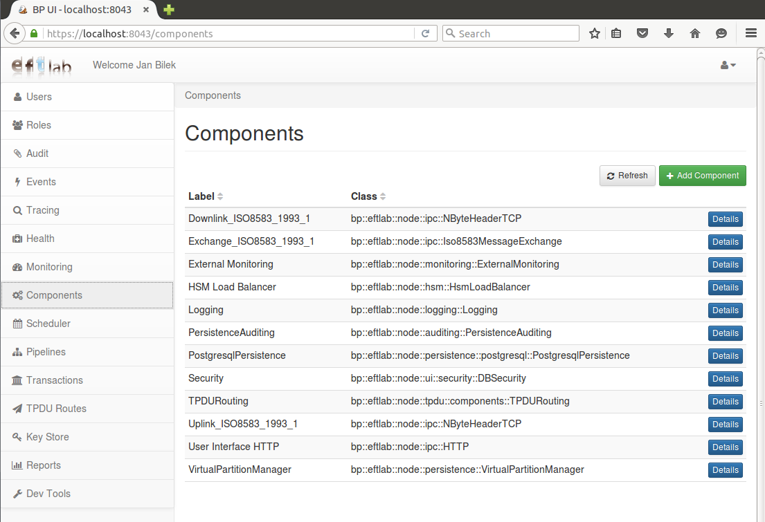 BP-Switch: Configuring ISO8583 pass-through - EFTLab